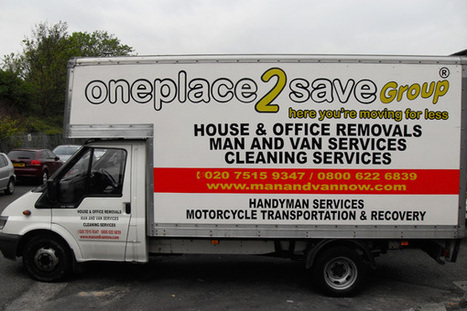 Professional man and van removal service | Oneplace2save | Scoop.it