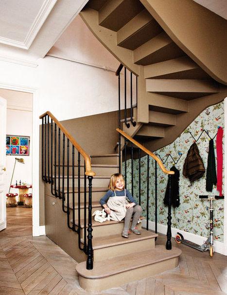 Visite déco de l'appartement coloré des créateurs de Bonton | DecoCrush blog déco, idées déco | décoration & déco | Scoop.it