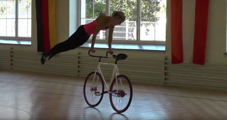 So Gymnastic Cycling is a Thing and It's Amazing to See | Xposed | Scoop.it