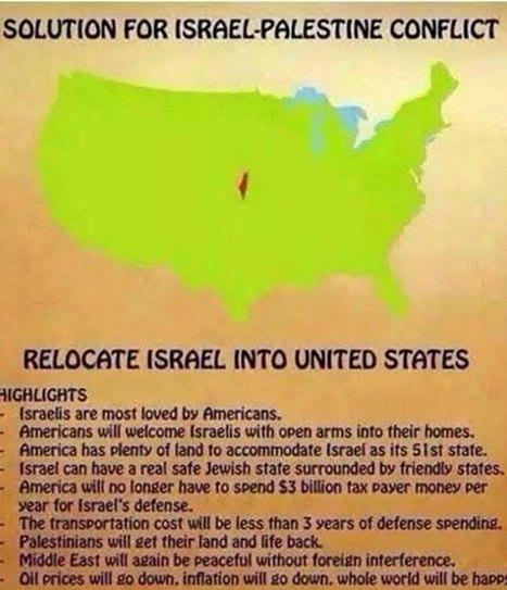 CNA: Parlamentaria Antisemita británica propone trasladar Israel a EEUU (por imposibilidad de poder mandarlos a otra galaxia) | La R-Evolución de ARMAK | Scoop.it