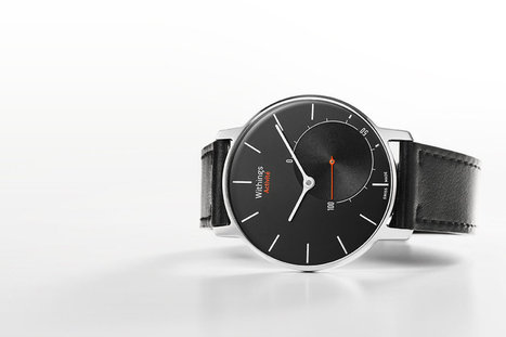 The Withings Activité hides a fitness tracker inside a gorgeous watch | Quantified Self, Wearables and Digital Health | Scoop.it