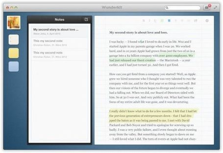 Wunderlist 2 Coming Later This Year, Wunderkit Collaboration Tool Discontinued - Cult of Mac | 21st Century tools | Scoop.it