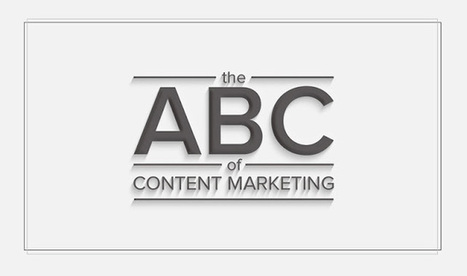 The ABC Of Content Marketing - #infographic | Content Creation, Curation, Management | Scoop.it