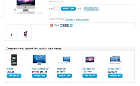 AlsoViewed - Display customers who viewed this also viewed - Marketing / Sales | iSenseLabs | Best OpenCart Modules | Scoop.it