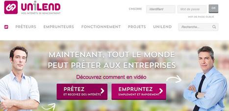 Unilend, le site qui permet aux particuliers de prêter aux PME | Unilend | Scoop.it