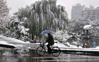 Chinese government makes it snow in Beijing in order to fight drought | Conformable Contacts | Scoop.it