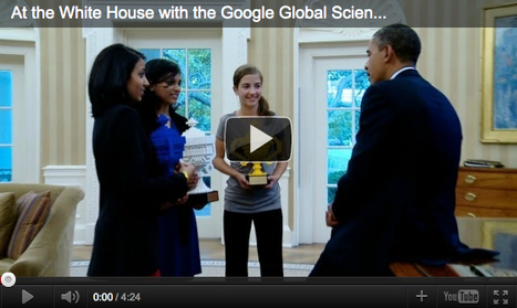 Science Fair Winners Visit White House | Curious Minds | Scoop.it