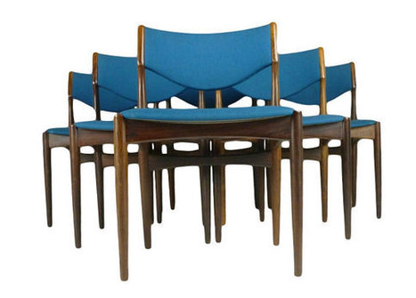 Dining Chairs by Johannes Andersen | QuiteQuainte | Scoop.it