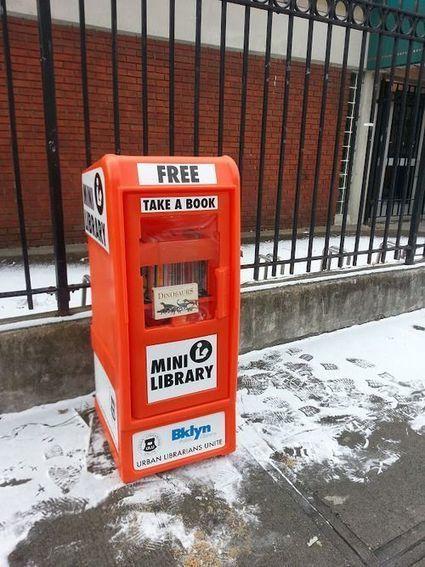 Utopia Literária: Mini Bibliotecas | Litteris | Scoop.it