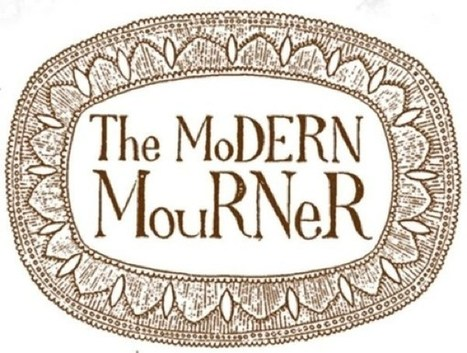 "The Modern Mourner: fragile as leaves in fall | CF Art Dept ""stuff"" 