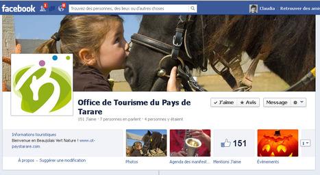 Page Facebook de l'Office de Tourisme du Pays de Tarare | Sites qui ont implémenté les Widgets Sitra | Scoop.it