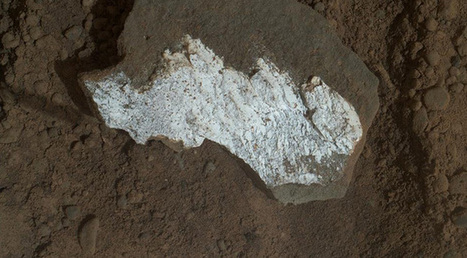 Curiosity discovers dazzling white rock on the Red Planet… and suffers another computer glitch | ExtremeTech | Scientific and space | Scoop.it