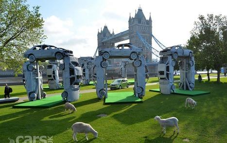 Skoda Citigo Stonehenge Sculpture Photo Gallery - Cars UK | Olivier LAVANCIER | Scoop.it