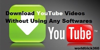 How to download youtube videos directly without using any softwares | Worldwidenetworkings and worldtrick360 | Scoop.it