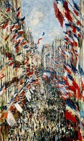 Des symboles républicains réinvestis par les arts du XXe siècle-Le Drapeau tricolore. | Arts et FLE | Scoop.it