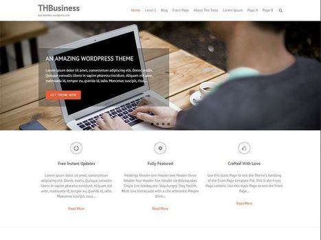 Free business wordpress themes 2014 | Busines | Scoop.it