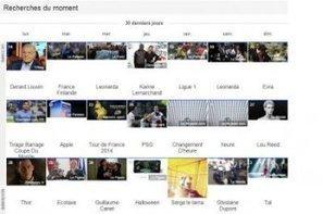 """Google Trends révèle les """"recherches du moment"""" en France   Social Media and E-Marketing   Scoop.it"""
