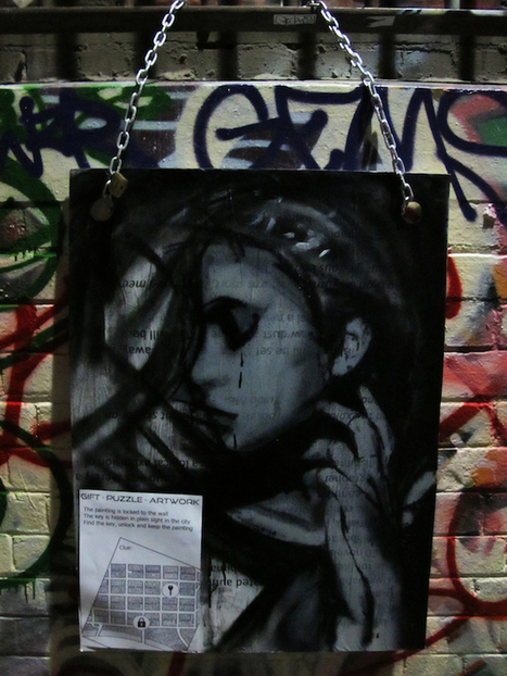 Street art as an experience and an anonymous gift - Vandalog | PIXNOV | Scoop.it