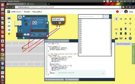Cómo aprender a programar un Arduino en línea y de forma gratuita | informática educativa | Scoop.it