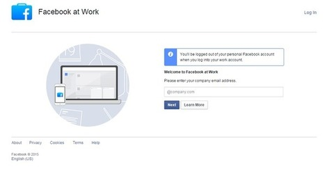 Facebook At Work est déjà utilisé par près de 300 entreprises - Presse-citron (Blog) | Community Management | Scoop.it