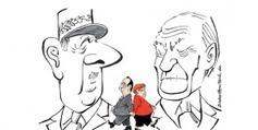 Du duel au duo, le couple franco-allemand vu par les caricaturistes | 50e anniversaire du Traité de l'Elysée | Scoop.it