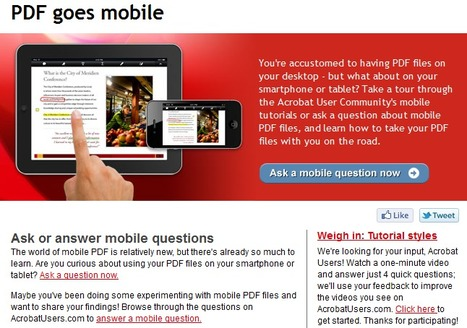 Acrobat Answers - Mobile PDF | iPdf - Pdf interattivi | Scoop.it