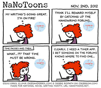 Galleycat offering NaNoWriMo writers two years' worth of writing tips   Writing   Scoop.it