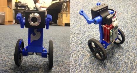 Meet 'Eddie' the 3D Printed Balance Bot   Differentiation Strategies   Scoop.it