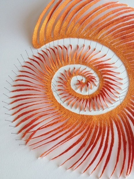 Meredith Woolnough et sa machine à coudre - MOGWAII | mogwaii.fr | Scoop.it