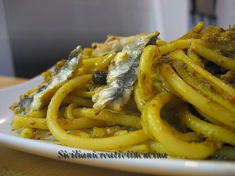 Pasta with sardines   CicerOOs_Scooped   Scoop.it