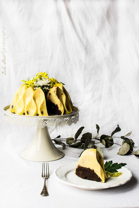 Yuzu & Chocolate Magic Cake - Bake-Street.com | Passion for Cooking | Scoop.it