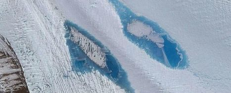Des lacs bleus géants apparaissent en Antarctique et c'est une très mauvaise nouvelle | Biodiversité | Scoop.it