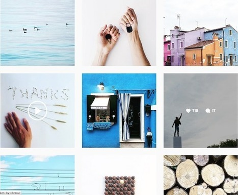 Instagram Redesigns Its Website look, Features White - Flat Layout, Infinite Scroll | Daily News Reads | Scoop.it
