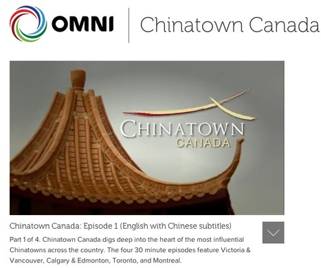 Four Largest Chinatowns of Canada: (English with Chinese subtitles) | Chinese American Now | Scoop.it