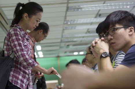 Hong Kong irks China with democracy vote | Southmoore AP Human Geography | Scoop.it