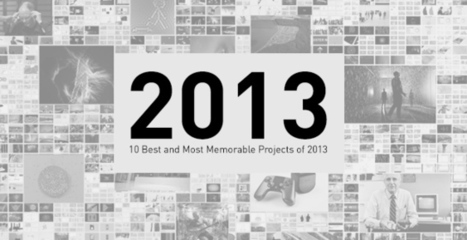 10 Best and Most Memorable Projects of 2013 | Visual Projects | Scoop.it