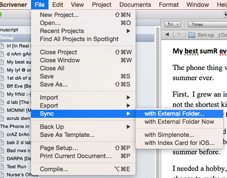Using Scrivener with an iPhone or an iPad | Representando el conocimiento | Scoop.it