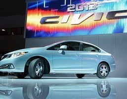 2013 Honda Civic Hybrid Tested: Updated More Quickly Than It Can Reach Highway Speeds - Auto Balla   Honda Automotive Technicians   Scoop.it