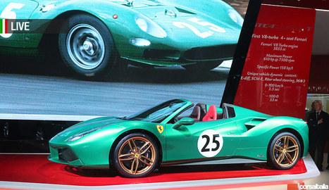 Autosalon Parijs: Ferrari presenteert speciale modellen   La Gazzetta Di Lella - News From Italy - Italiaans Nieuws   Scoop.it