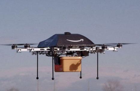 Με αεροπλανάκια-ρομπότ θα παραδίδει πακέτα η Amazon | Τράπεζα Υλικού Γ' τάξης | Scoop.it