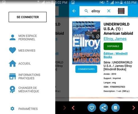 L'application BibEnPoche arrive sous Android, pour tout gérer d'un doigt | numérique | Scoop.it