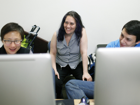 Blazing The Trail For Female Programmers - NPR (blog) | Students Love Tech | Scoop.it