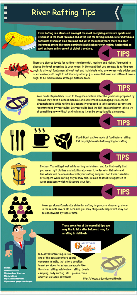 Some Essential Tips for River Rafting Rishikesh   infographicsmaker   Scoop.it