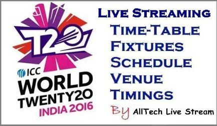 ICC T20 World Cup Live 2016 | Live Sports Streaming | Scoop.it