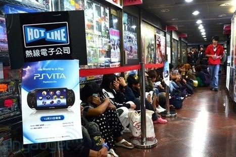 La pre-venta del PS Vita causa desorden en Hong Kong | VIM | Scoop.it