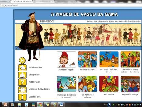 A VIAGEM DE VASCO DA GAMA   Sites com leituras para miúdos   Scoop.it