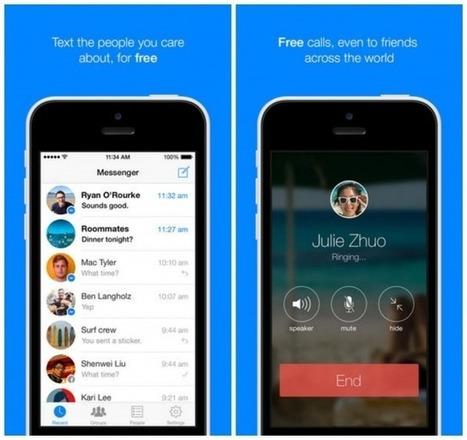 Facebook ajoute les appels vocaux à son application Messenger | Les réseaux sociaux : ce qu'il faut savoir | Scoop.it
