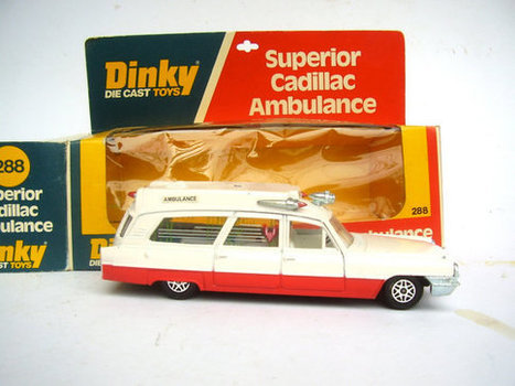 Dinky Superior Cadillac Ambulance by ReUnited on Etsy | Antiques & Vintage Collectibles | Scoop.it