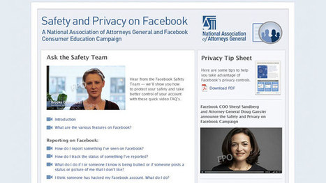 Facebook, Attorneys General Team Up - ABC News | interlinc | Scoop.it
