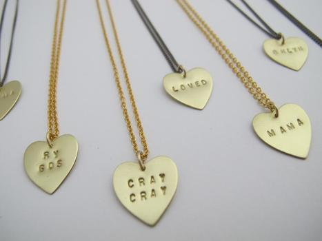 Product of the Day | Customized Pendants, Milly & Earl, Williamsburg | Spotlight | New York Boutiques | Scoop.it
